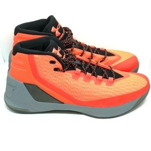 UNDER ARMOUR Curry 3 Basketball Shoes Orange